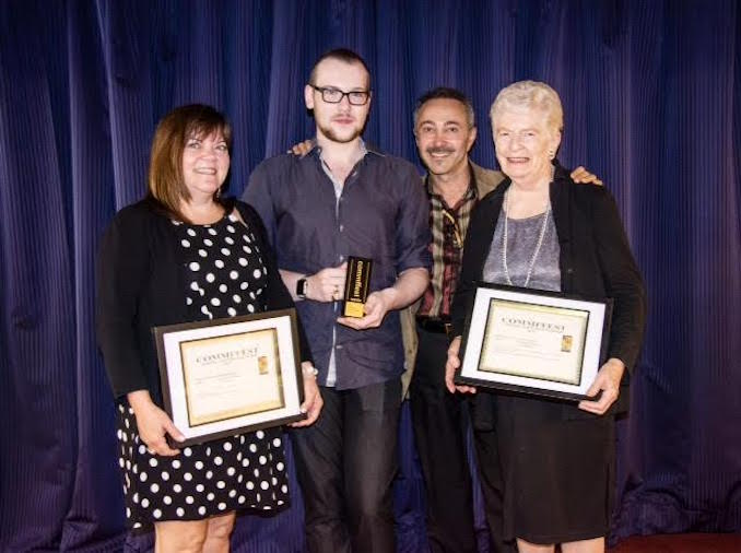 Commffest Global Arts & Film Festival Award Ceremony, September 2015. Humbled that my painting 'Ruffled Feathers' received the MADA Award, Honorable Mention as many artists worldwide exhibited their artworks. I'm very proud to be pictured here alongside Art Director/Curator, Antoine Gaber and the talented recipient Artists and their awards.