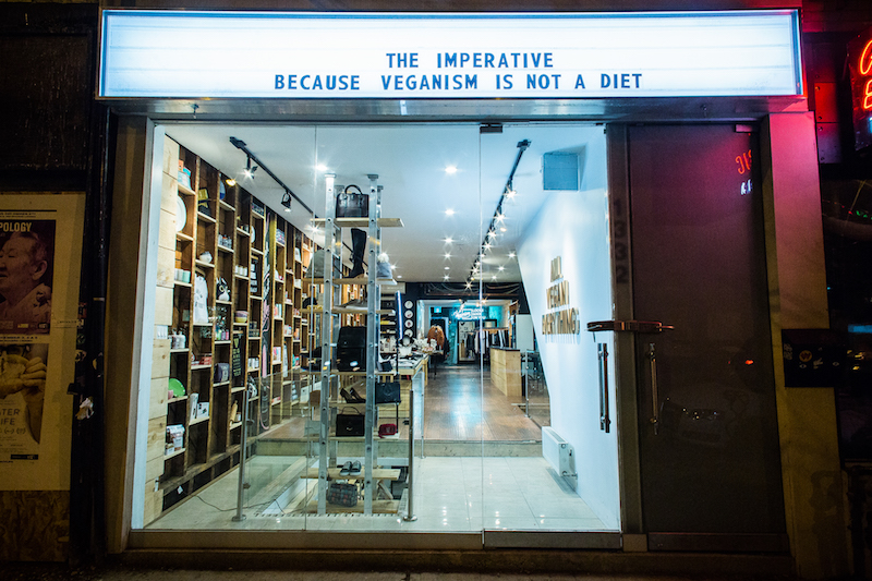 The Imperative Vegan Store in Toronto - Photo by Joel Levy