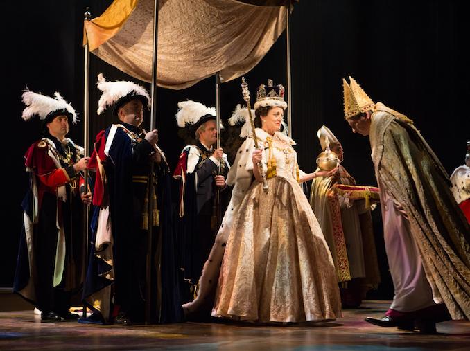 The cast of THE AUDIENCE ©2017, Cylla von Tiedemann