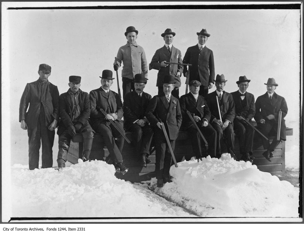 1910 - Hunt Club shoot - Hunting Photographs