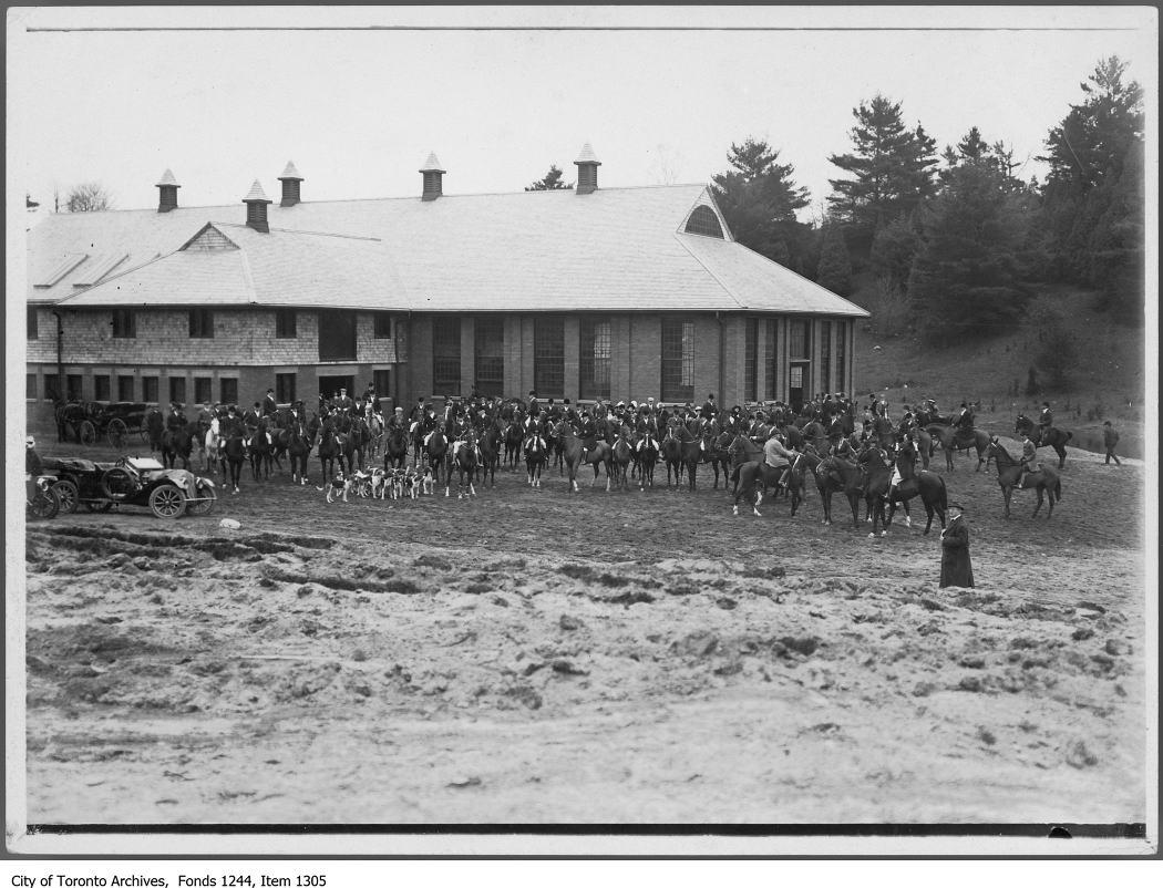 1910 - Hunt meet - Hunting Photographs