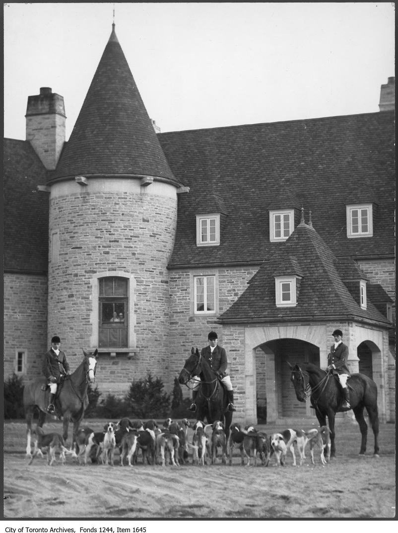 1930 - First hunt meet at new Eaton home, King City