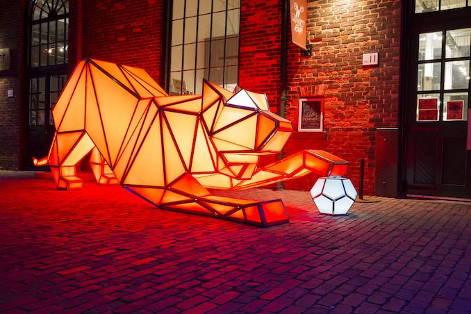 Kevin Cabral Toronto Light Festival