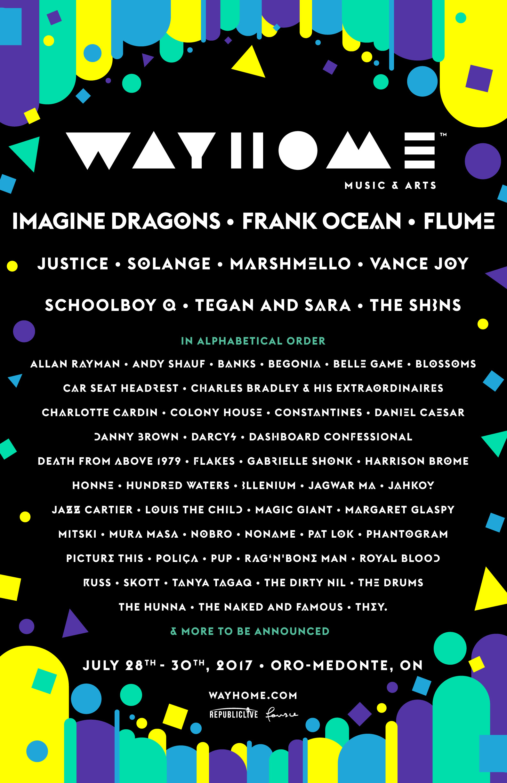 Wayhome Lineup