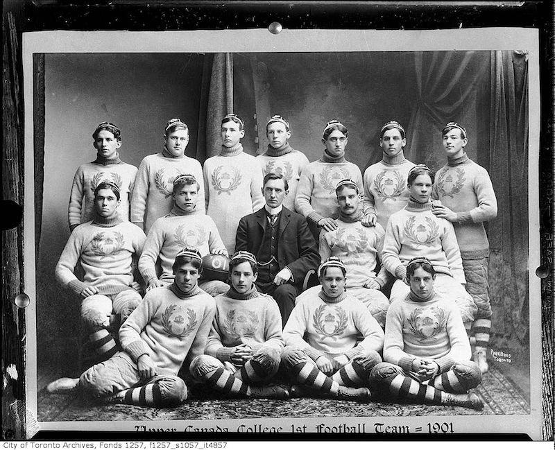 1901 - Upper Canada College rugby team