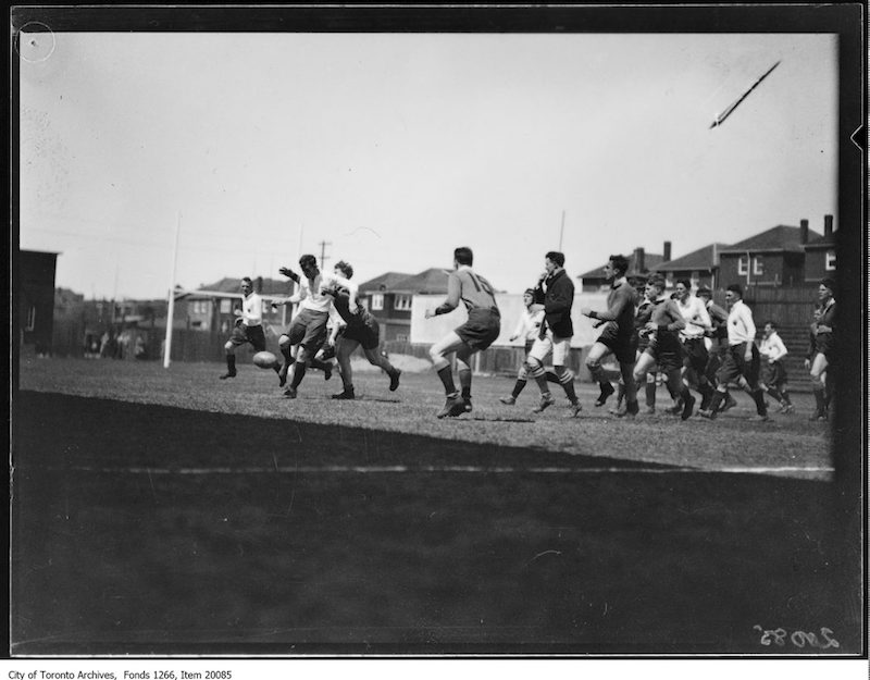 1930 - English rugby, action