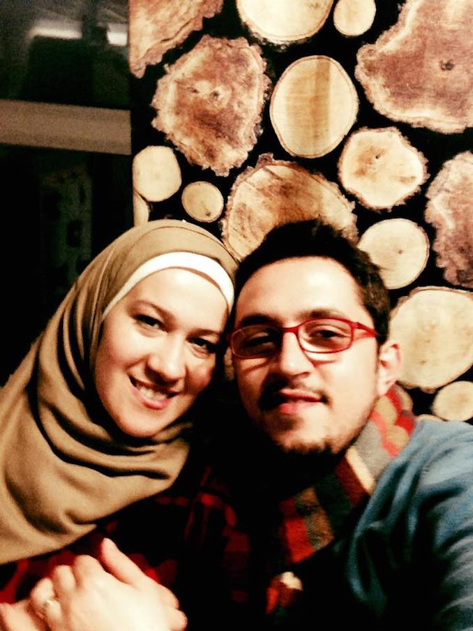 Amir and his wife Noor - SOULO Theatre