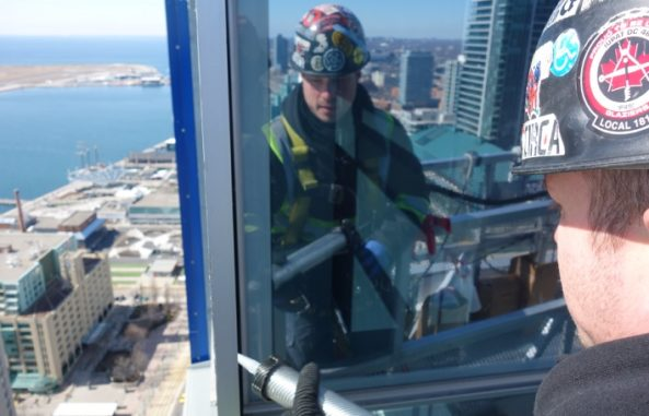 replacing windows in office buildings in Toronto