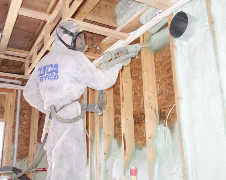 George Shimi Toronto Spray Foam Insulation Application