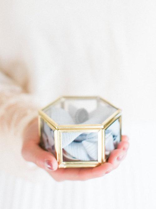 Wedding Box with Rings