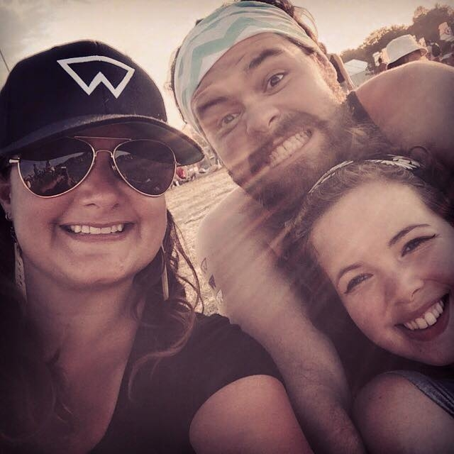 personal time - Wayhome Music Festival with my oldest son and his girlfriend