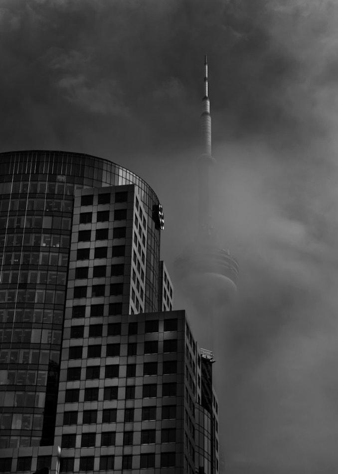 Brian Carson Cn Tower - Fogfest