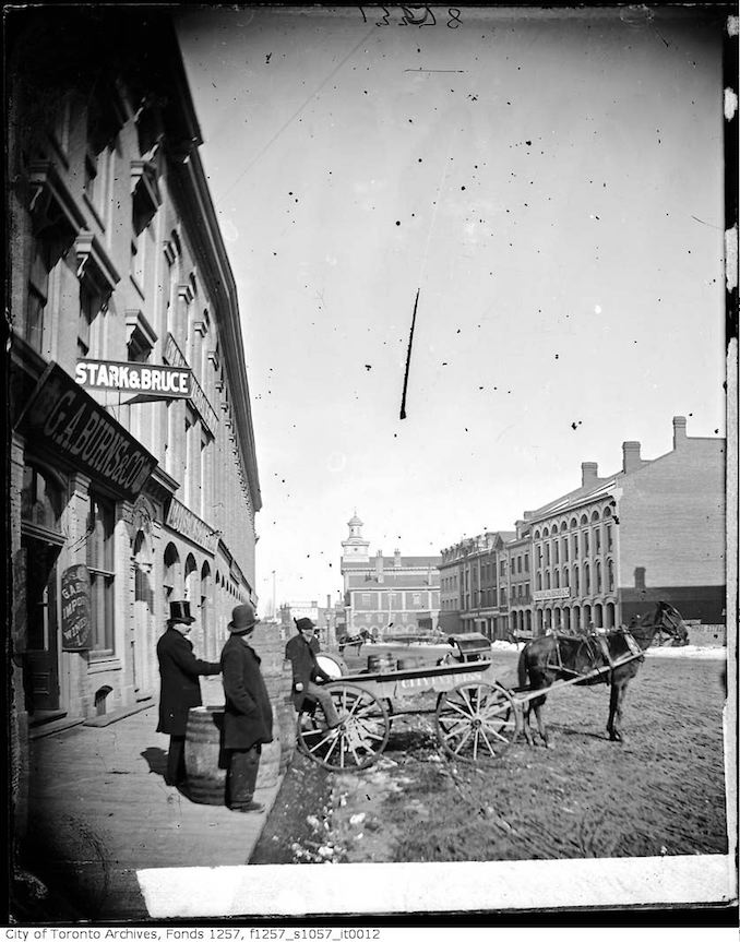 1880 - Front Street East and Yonge Street