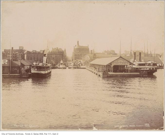 1890 - Yonge Street Wharf, Toronto