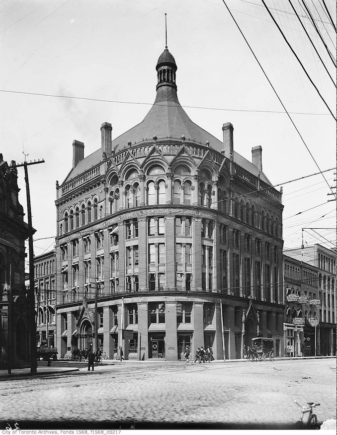 1900 - Board of Trade building north-east corner of Yonge Street and Front Street