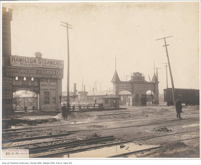 1904 - Yonge Street crossing
