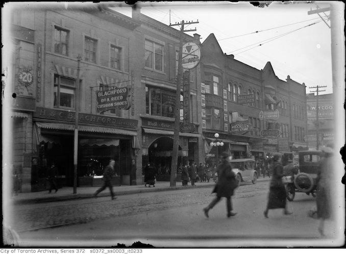 1919 - Yonge Street Beaver Recreation Club