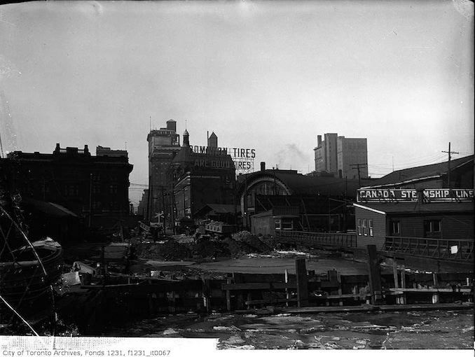 1919 - view of Toronto from south of Yonge Street