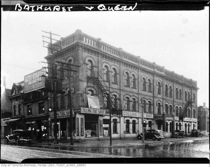 1920 - Yonge Street and Alexander Street