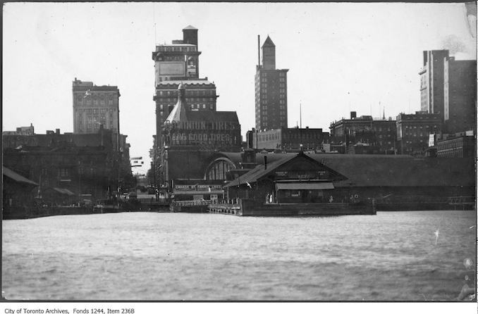 1925 - Toronto from foot of Yonge Street