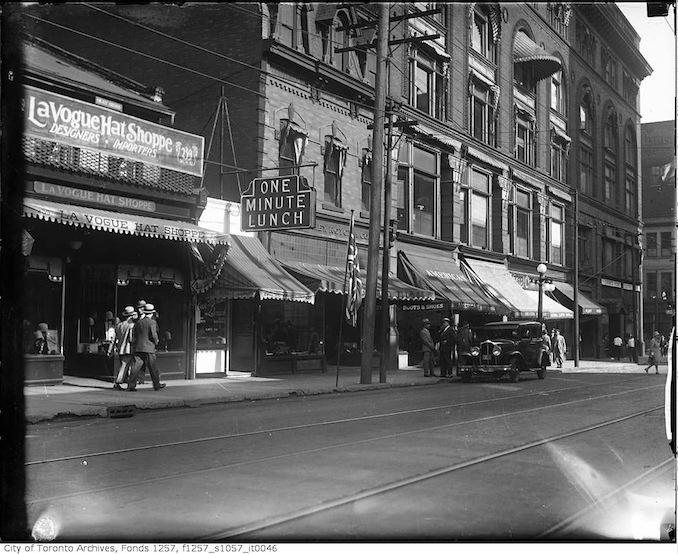 1930 - Yonge Street near Shuter Street copy