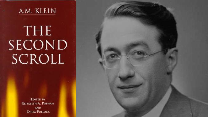 A. M. Klein – The Second Scroll