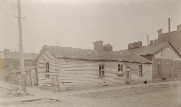 John Shea Cottage - Image courtesy of Toronto Public Library