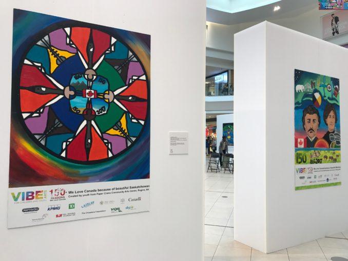 canada 150 murals - Young Artists