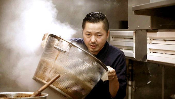 Chef Osamu Tomita