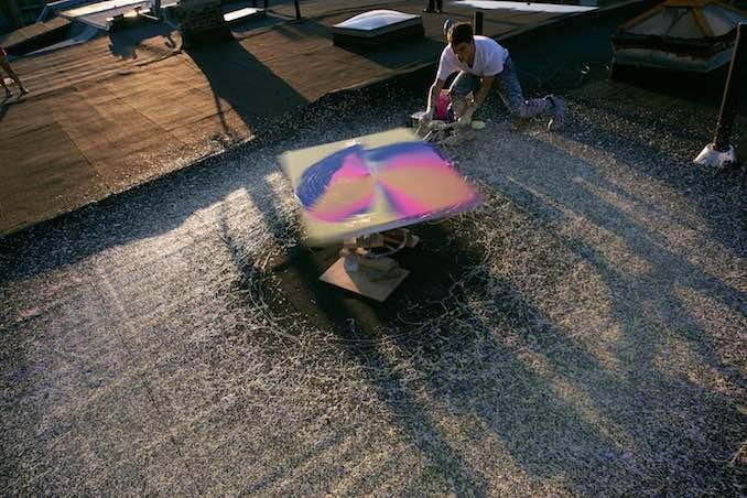 Rooftop Spin - Callen Schaub