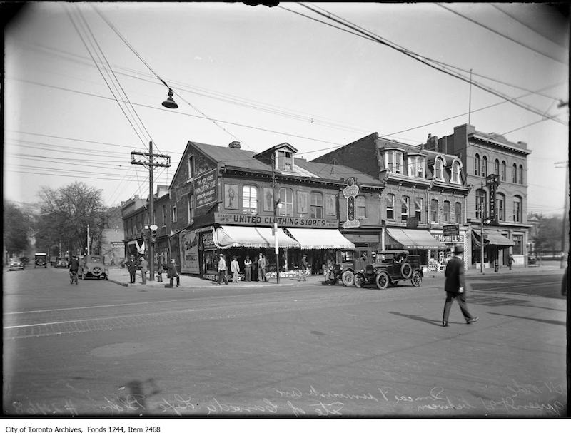 1926 - North side of Queen Street West between Simcoe Street and University Avenue