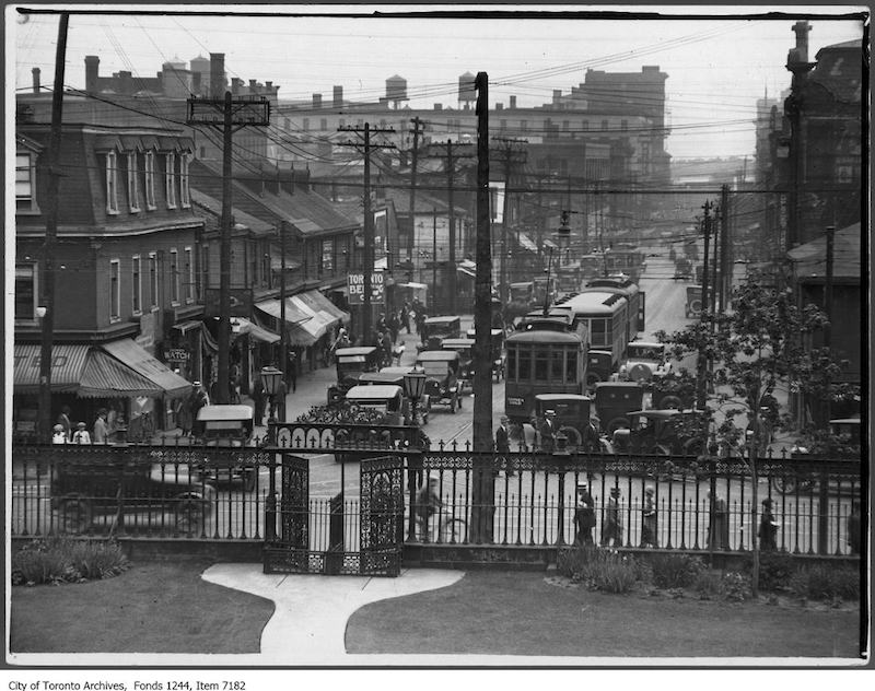 1927 - York Street, looking south from Queen Street