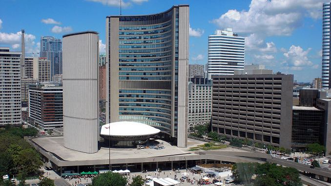 City Hall in Toronto - Political coverage