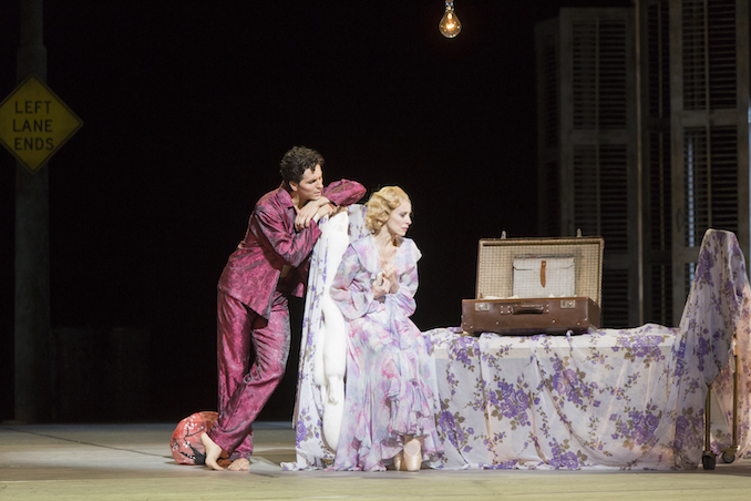 Guillaume Côté and Sonia Rodriguez in A Streetcar Named Desire, Second Act, New Orleans