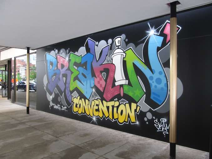 Hip Hop Breakin' Convention 2017 at Sony Centre - Breakdancing