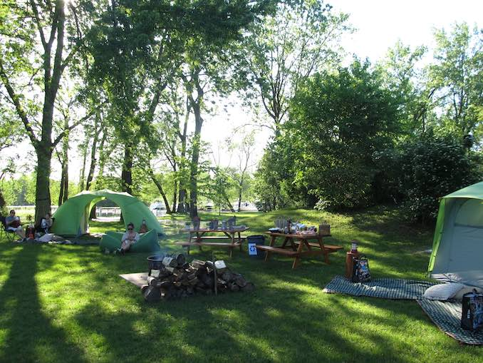 Plan the ultimate Outdoors getaway with friends camping!