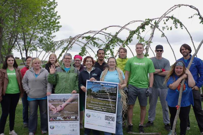 volunteers - Rick Garrick - National Aboriginal Day