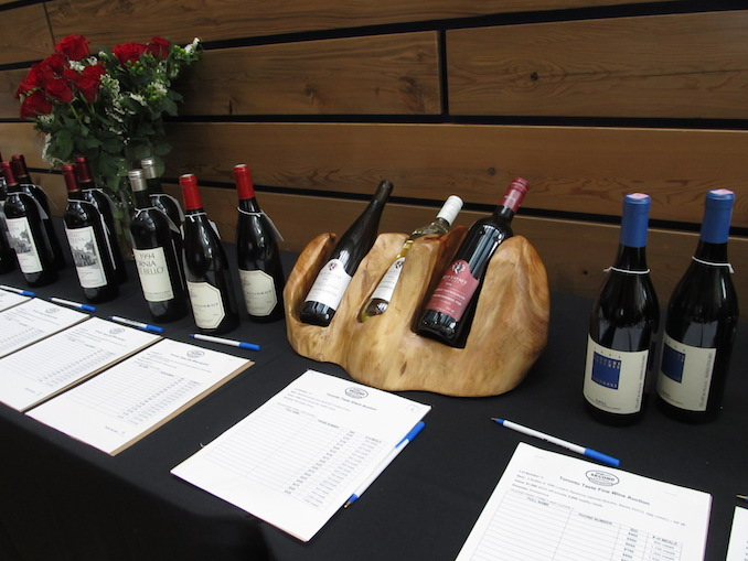 Toronto Taste silent auction ~ wine plus so much more.