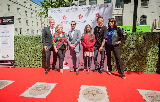Canada's Walk of Fame 2016 Inductees
