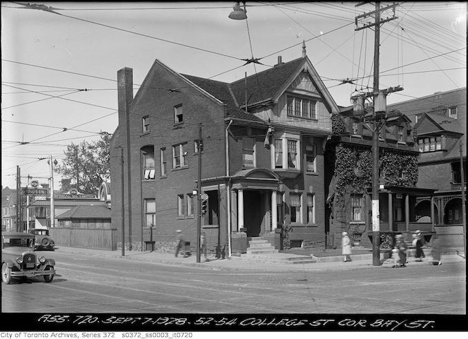 vintage College Street