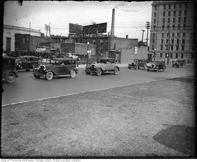 1930? - University Avenue near Queen Street West