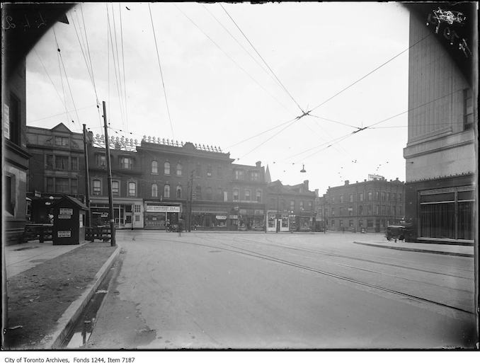 1930 - Yonge and College streets, looking east