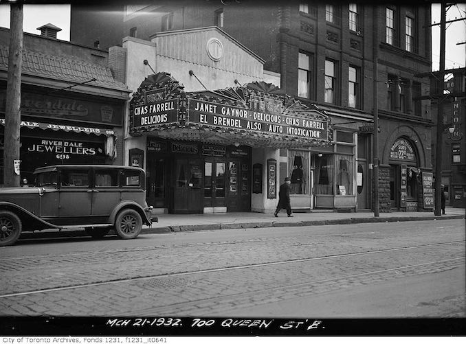 1932 - March 21 - Teck Theatre, 700 Queen Street East
