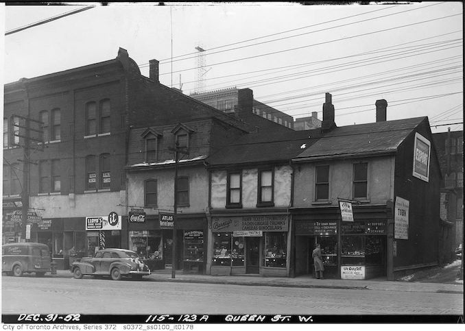 1952 - 115-123A Queen Street West