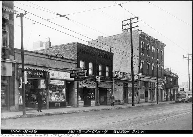 1953 - 141-147 Queen Street West