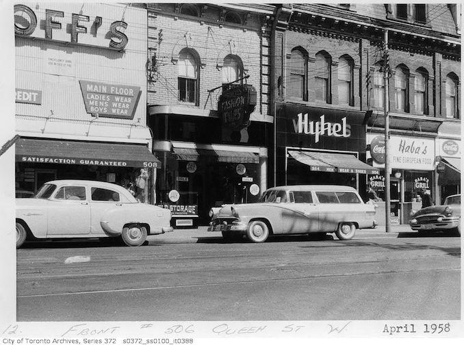 1958 - 506 Queen Street West