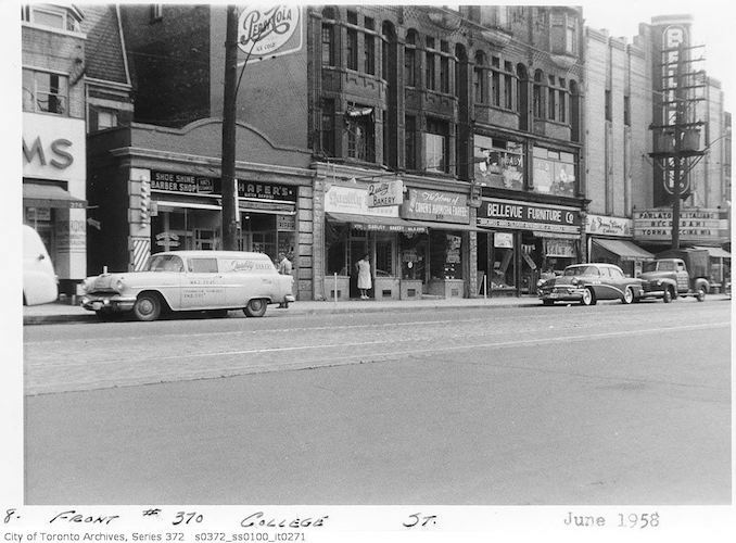 1958 - June - 370 College Street - front