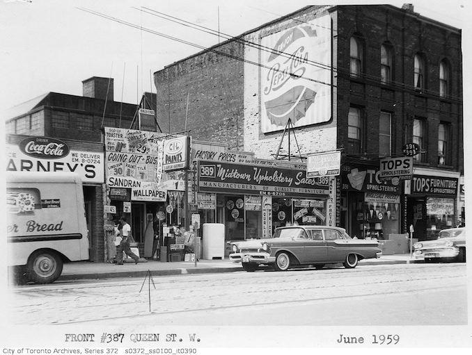 1959 - 387 Queen Street West