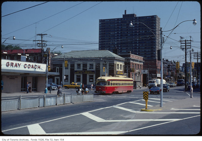 1979 - View of Sunnyside, looking east at Queen Street West
