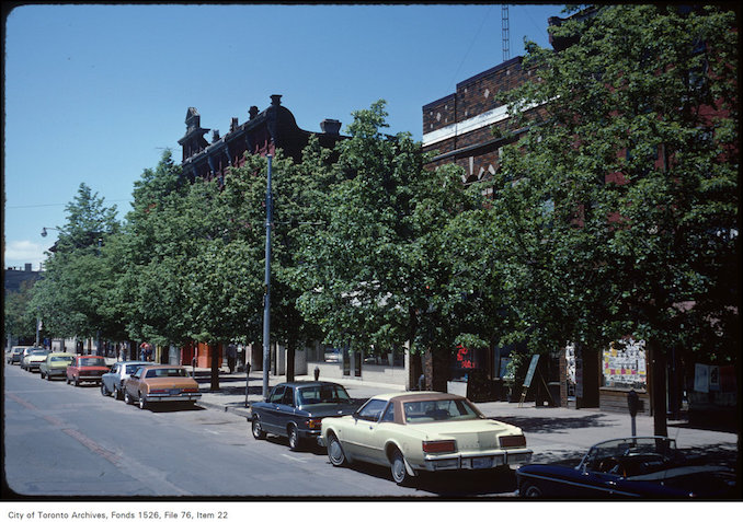 1981 - June 7 - Queen Street West at Soho Street